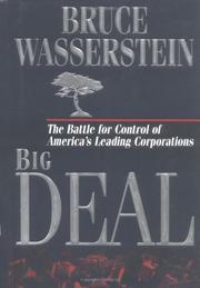 BIG DEAL by Bruce Wasserstein