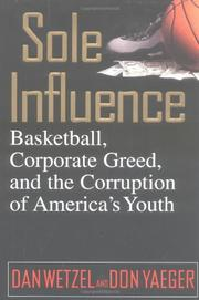 Book Cover for SOLE INFLUENCE