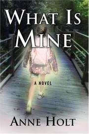 Book Cover for WHAT IS MINE