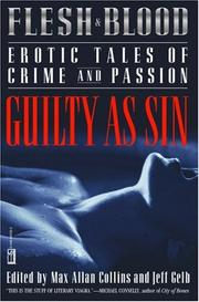 Book Cover for FLESH AND BLOOD: EROTIC TALES OF CRIME AND PASSION: GUILTY AS SIN