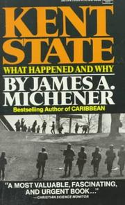 KENT STATE by James A. Michener