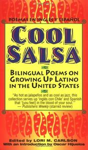 COOL SALSA: Bilingual Poems on Growing Up Latino in the United States by Lori M. -- Ed. Carlson