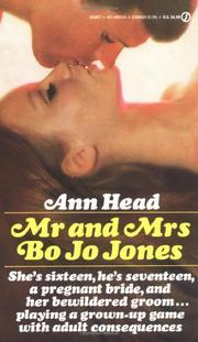 MR. AND MRS. BO JO JONES by Ann Head
