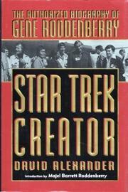 STAR TREK CREATOR by David Alexander