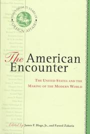 THE AMERICAN ENCOUNTER by Jr. Hoge