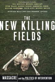 Book Cover for THE NEW KILLING FIELDS