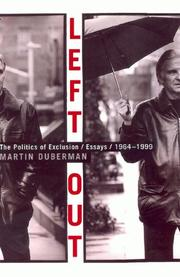 LEFT OUT by Martin Duberman