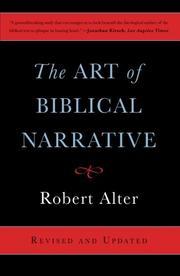 THE ART OF BIBLICAL NARRATIVE by Robert Alter