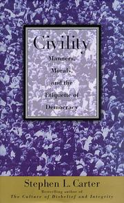 Book Cover for CIVILITY