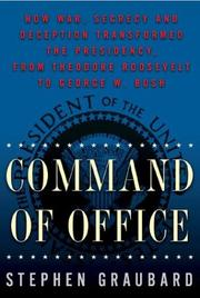 COMMAND OF OFFICE by Stephen Graubard