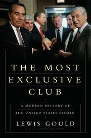 THE MOST EXCLUSIVE CLUB by Lewis Gould