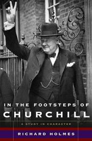 Cover art for IN THE FOOTSTEPS OF CHURCHILL