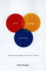MIND, LANGUAGE, AND SOCIETY by John R. Searle