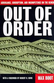 OUT OF ORDER by Max Boot