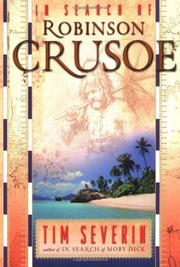 IN SEARCH OF ROBINSON CRUSOE by Tim Severin