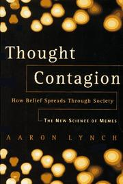 THOUGHT CONTAGION by Aaron Lynch