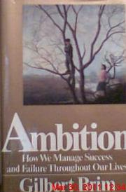 AMBITION by Gilbert Brim
