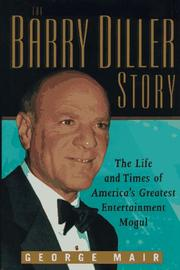 THE BARRY DILLER STORY by George Mair