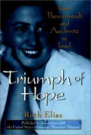 TRIUMPH OF HOPE by Ruth Elias