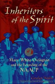 INHERITORS OF THE SPIRIT by Carolyn Wedin
