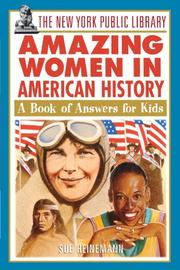 THE NEW YORK PUBLIC LIBRARY AMAZING WOMEN IN HISTORY by Sue Heinemann