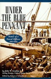 UNDER THE BLUE PENNANT by John W. Grattan