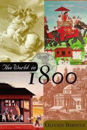 THE WORLD IN 1800 by Olivier Bernier