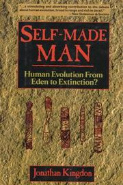 SELF-MADE MAN by Jonathan Kingdon
