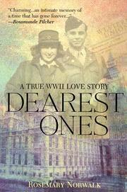 DEAREST ONES by Rosemary Norwalk