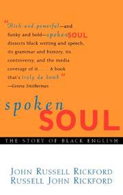 SPOKEN SOUL by John Russell Rickford