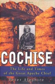 COCHISE by Peter Aleshire