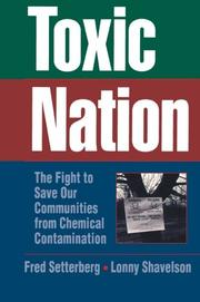 TOXIC NATION by Fred Setterberg