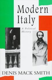 Cover art for MODERN ITALY