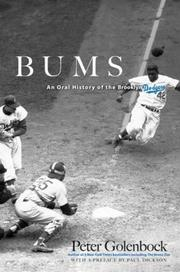 BUMS: An Oral History of the Brooklyn Dodgers by Peter Golenbock
