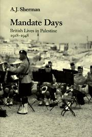 MANDATE DAYS by A.J. Sherman