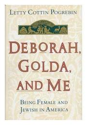 Book Cover for DEBORAH, GOLDA, AND ME