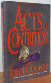 ACTS OF CONTRITION by John Cooney