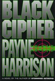 BLACK CIPHER by Payne Harrison