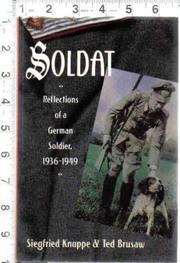 SOLDAT by Siegfried Knappe