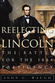 Cover art for REELECTING LINCOLN
