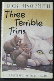 THREE TERRIBLE TRINS by Dick King-Smith