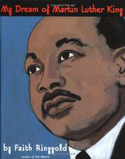 Cover art for MY DREAM OF MARTIN LUTHER KING