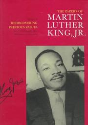 THE PAPERS OF MARTIN LUTHER KING, JR. by Jr. King