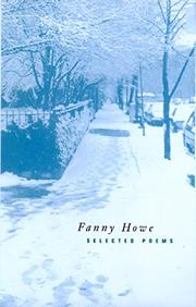 SELECTED POEMS by Fanny Howe