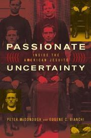Cover art for PASSIONATE UNCERTAINTY