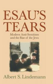 ESAU'S TEARS by Albert S. Lindemann