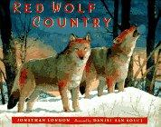 RED WOLF COUNTRY by Jonathan London