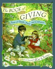 THE BOOK OF GIVING by Kay Chorao