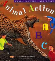 ANIMAL ACTION ABC by Karen Pandell