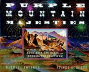 PURPLE MOUNTAIN MAJESTIES by Barbara Younger